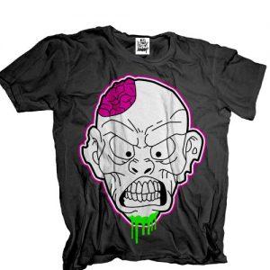 Phatkid Laundry - Zombie Black T Shirt